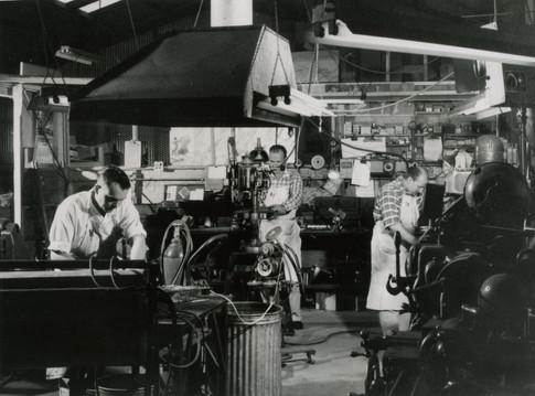 Jet Plastics Tool Room 1950s