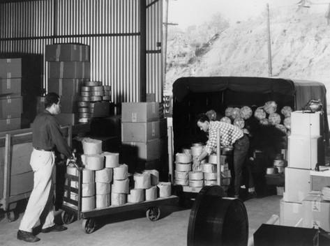 Jet Plastics Loading Dock 1950s