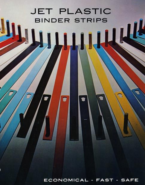 Jet Plastics Binder Strips