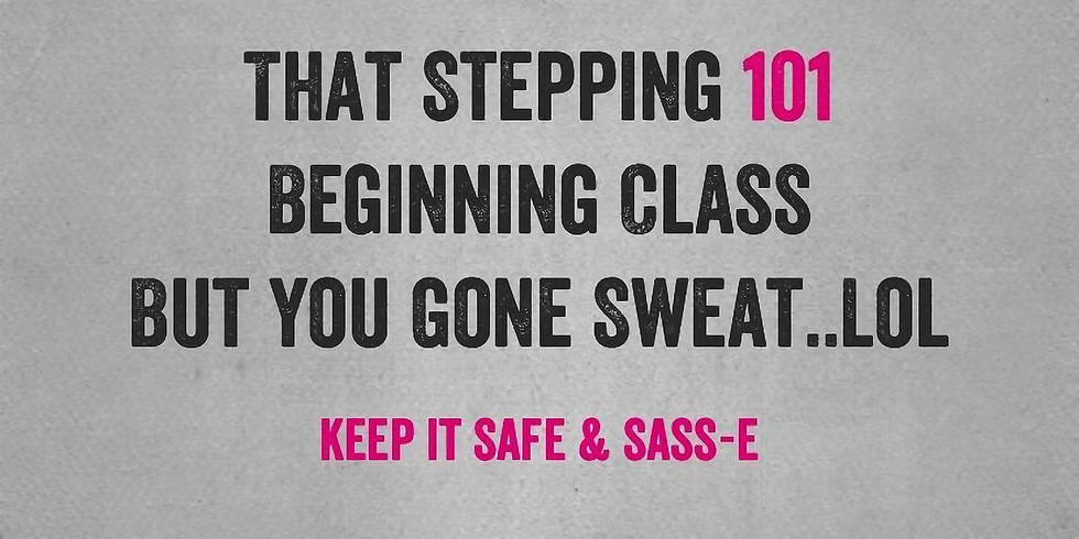 Tues Or Thurs Adult Funk Step Up Class