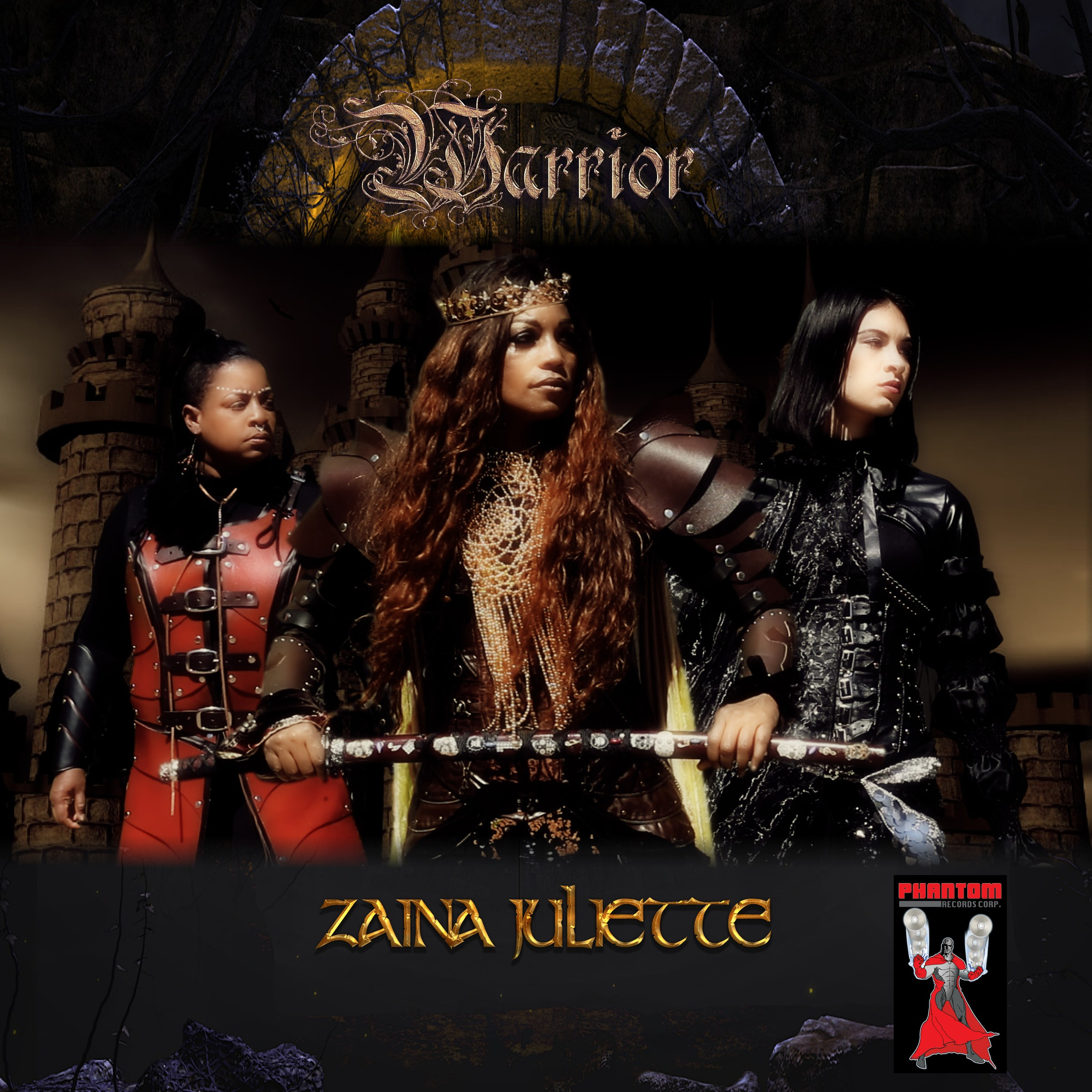 Zaina Juliette Warrior CD Cover UPDATE with name