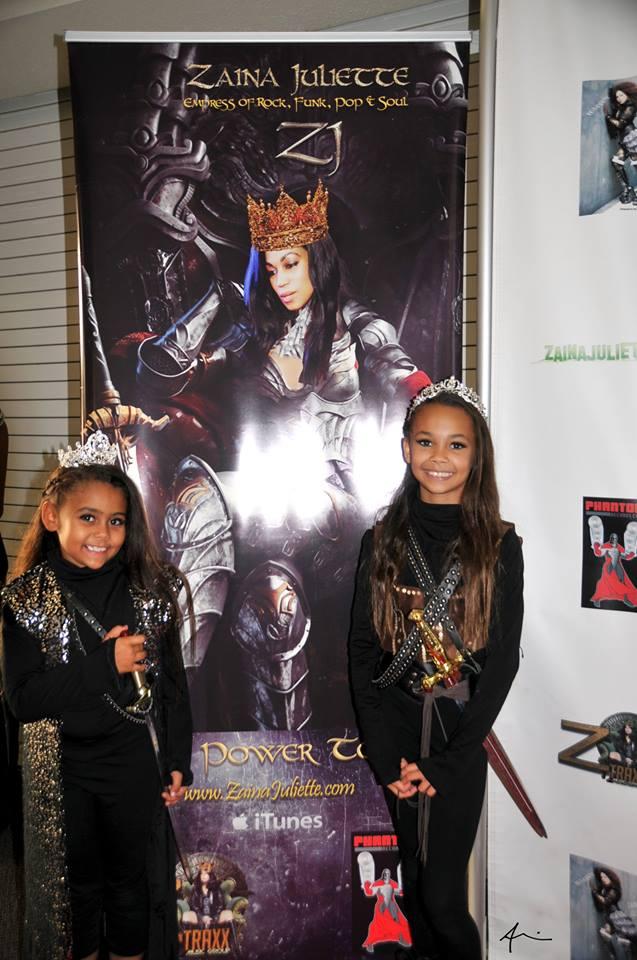 Zaina Juliette Girl Power Concert