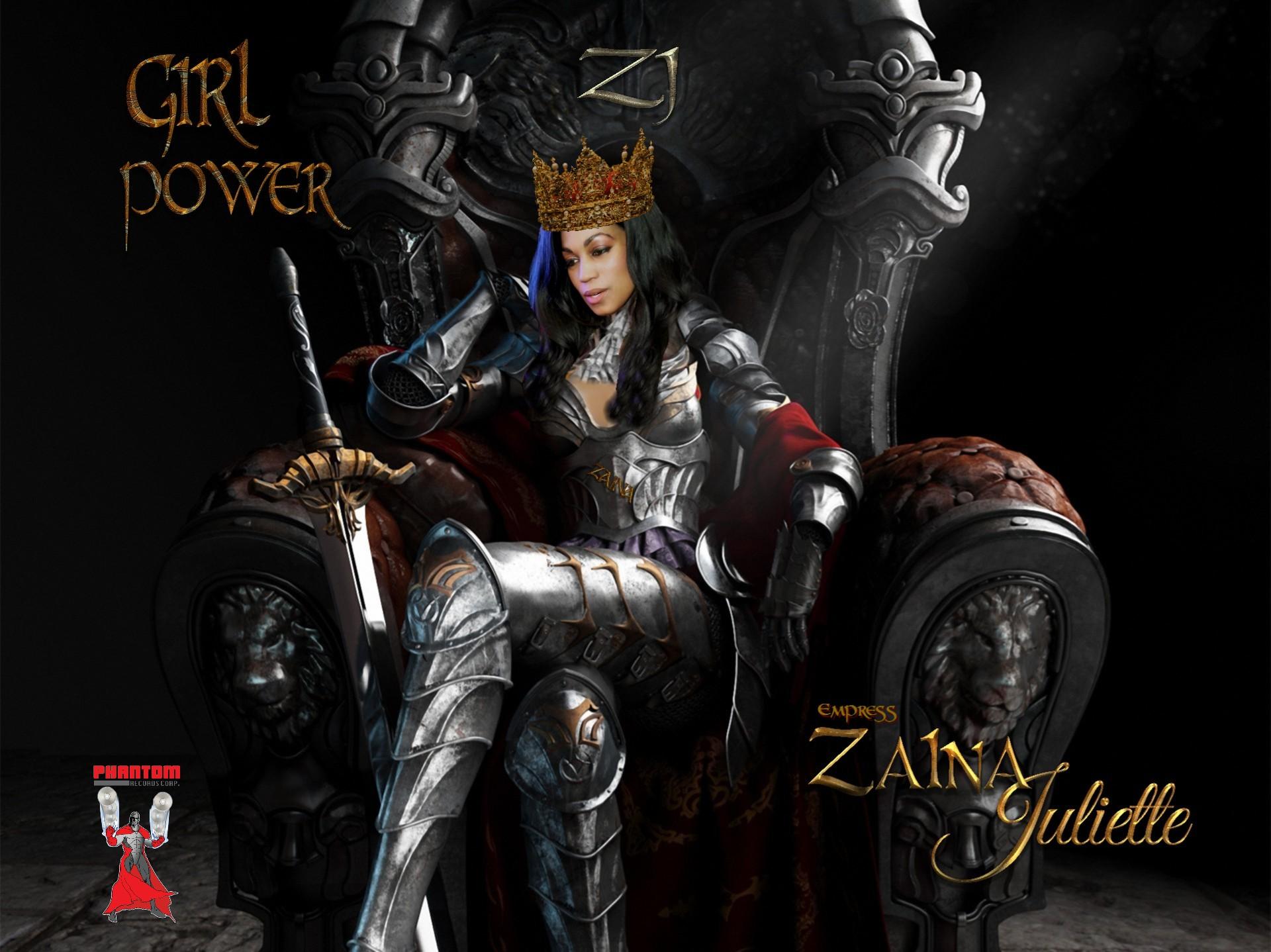 Zaina on new Throne 444t