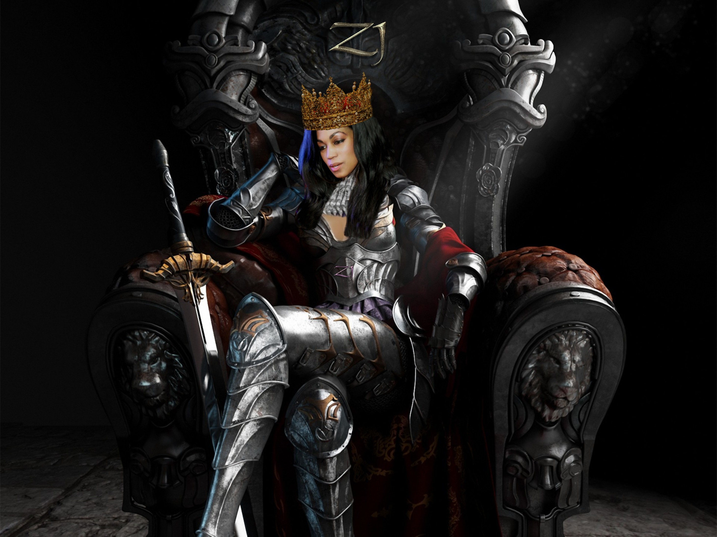 Zaina on new Throne444