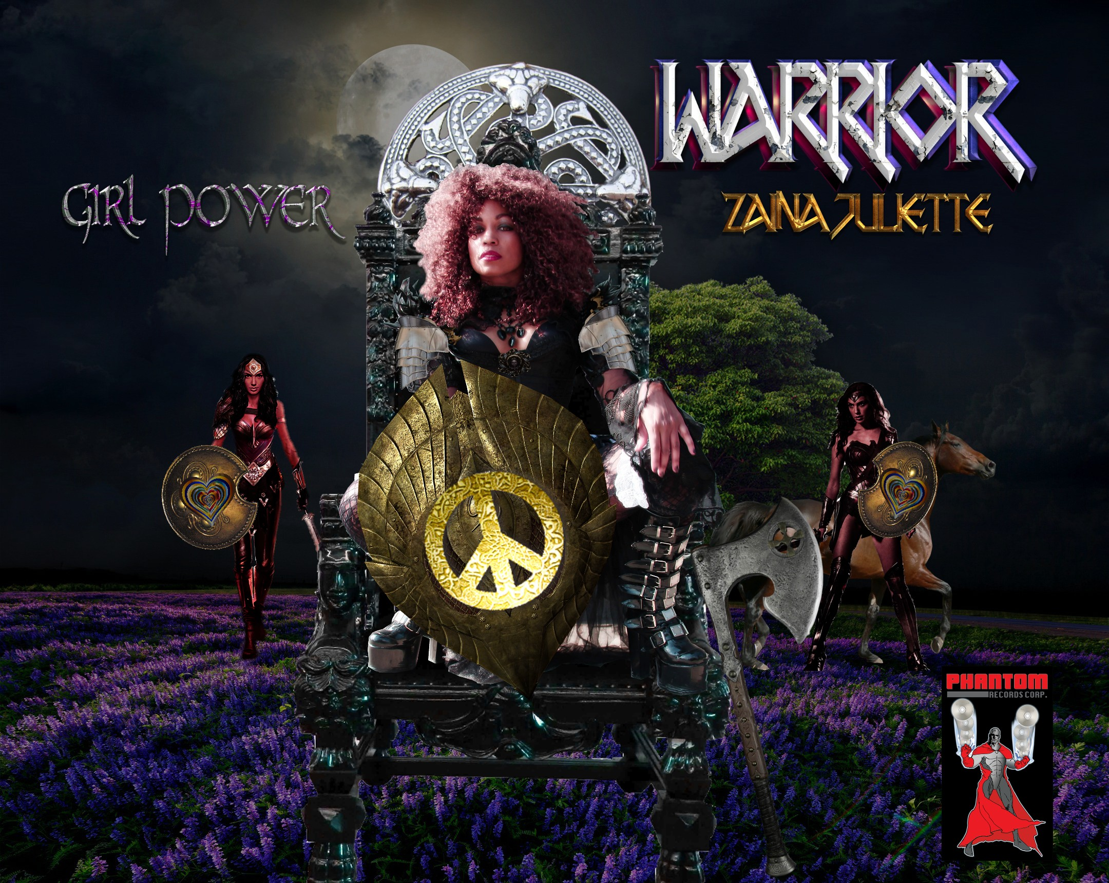 Warrior Poster Phantom 2