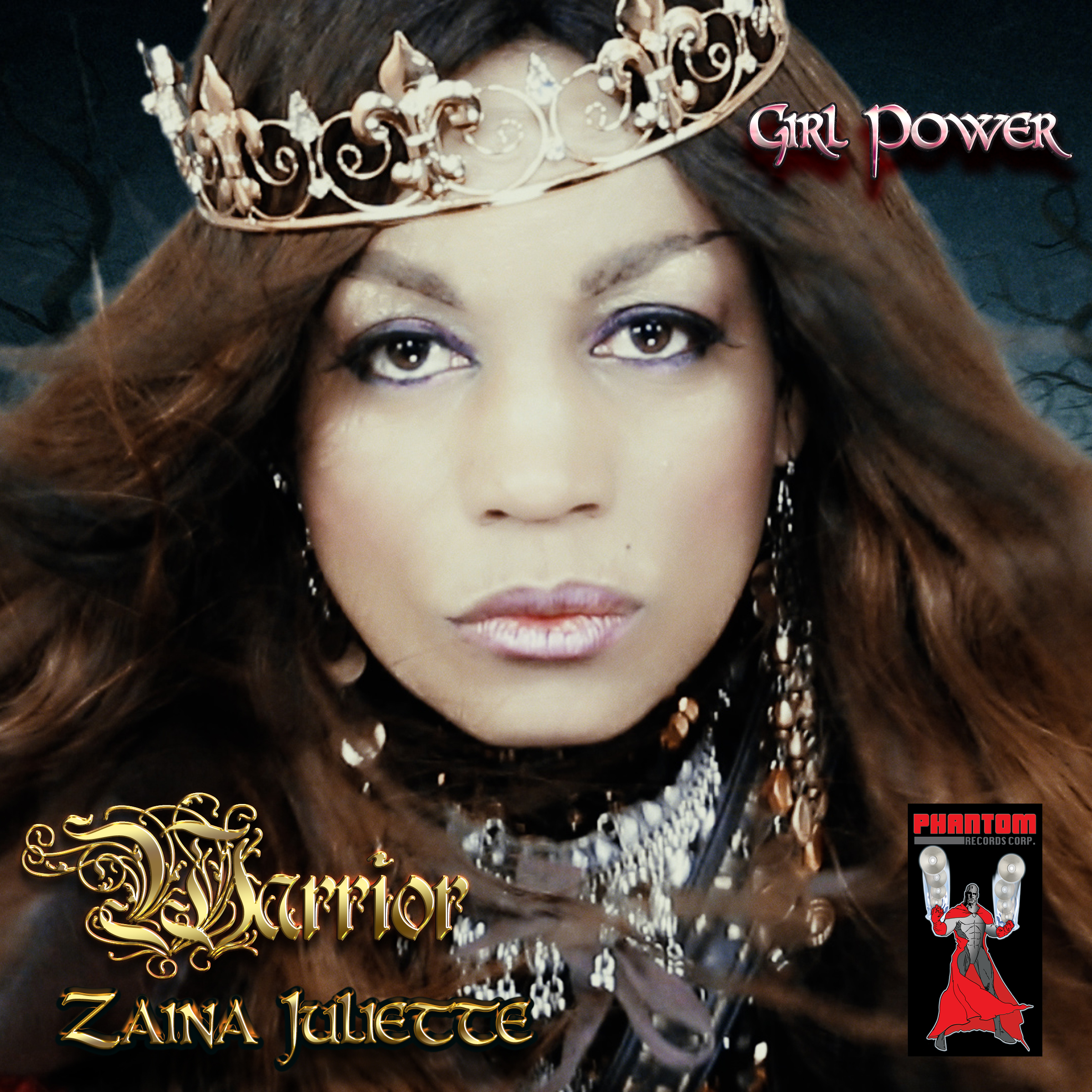 Warrior Album Cover 2