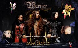Zaina Juliette Warrior Poster 444 portal 2