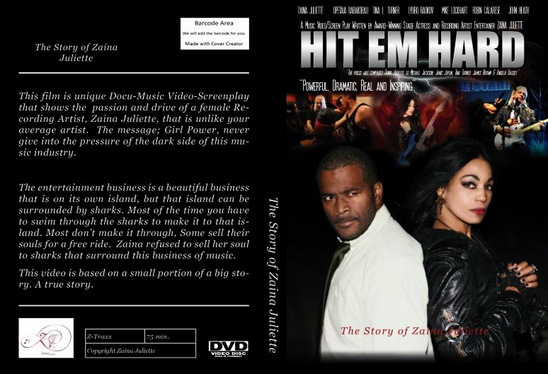 DVD Cover for market
