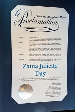 proclamation 2018