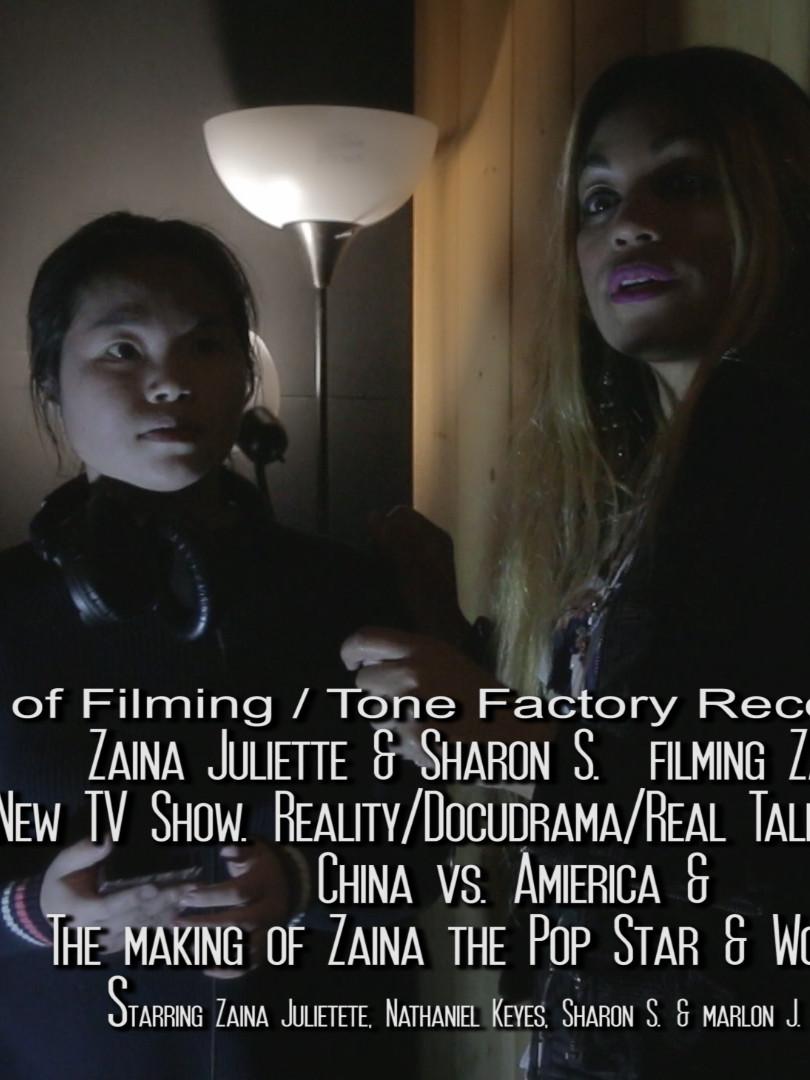 "Zaina TV Show ""The Making Of"""