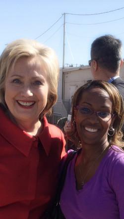 Nichole and Hillary