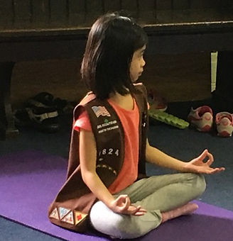 Yoga for Girl Scouts