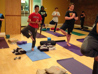 Bringing Calm to Young Athletes