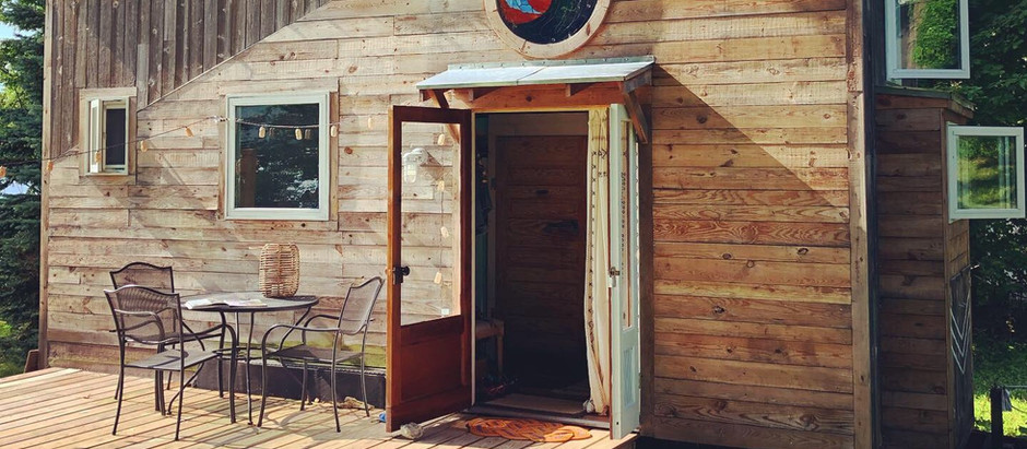 """If opportunity doesn't knock, build a door.""  ~Milton Berle (+ unsolicited deck pics)"