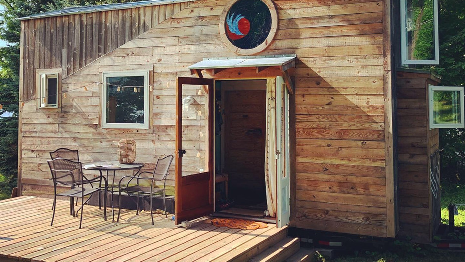 """""""If opportunity doesn't knock, build a door.""""  ~Milton Berle (+ unsolicited deck pics)"""