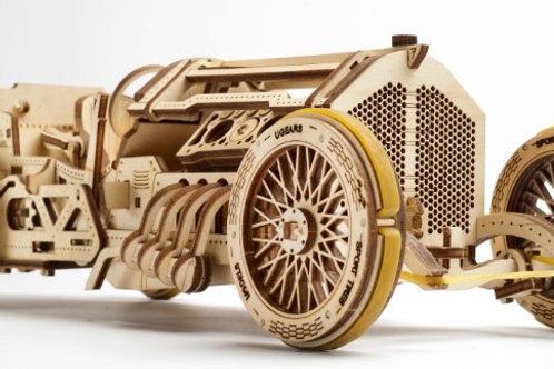 3D Wooden Puzzle - U-9 Grand Prix Car