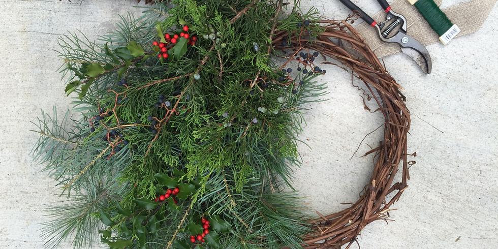 Wreath Workshop - Spoke + Spy