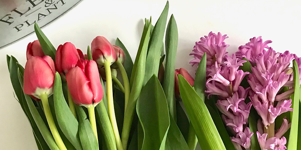 Spring Floral Design Workshop at Atwater Memorial Library North Branford