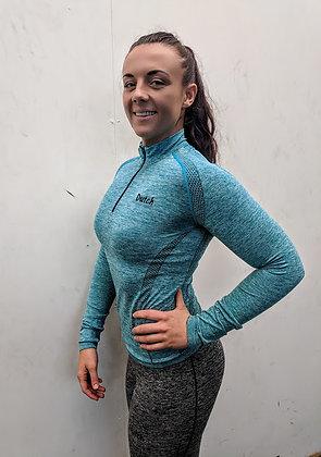 Gym Long Sleeve Zip Top
