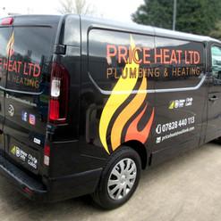 Price Heat vehicle