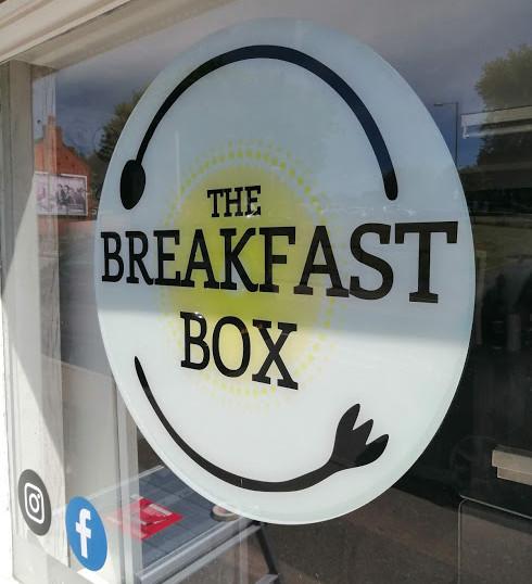 The Breakfast Box Window Graphics
