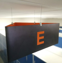 Hanging Aisle Sign
