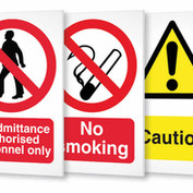 Various H&S signs