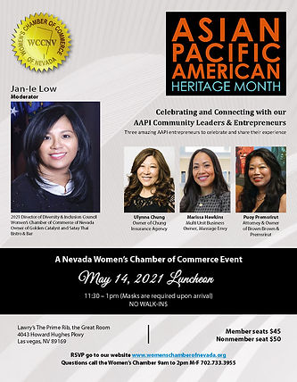 [05-14-21] ASIAN PACIFIC AMERICAN LUNCHE