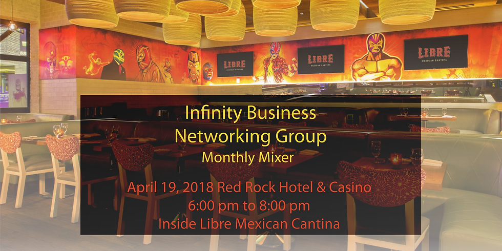 The Infinity Business Networking Group Monthly Mixer