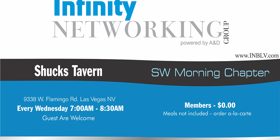 Infinity Networking Group SW Morning Chapter
