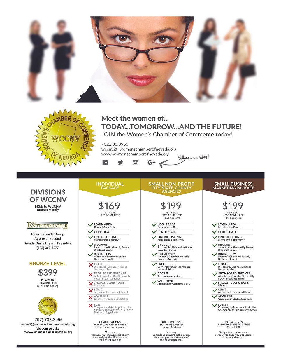 WCCNV-- Membership Promo 03 AD-NEW RATES