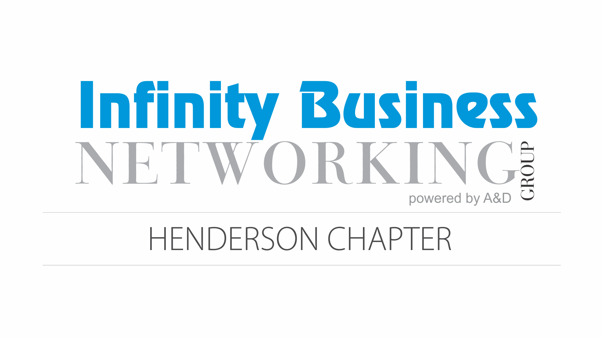 Infinity Business Networking Group Henderson Chapter