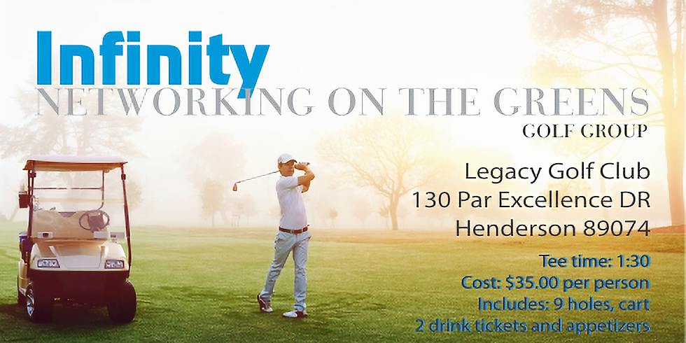 Networking on the Greens  - Legacy Golf Club