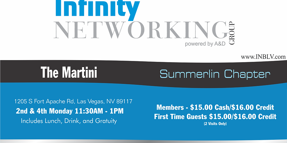Infinity Networking Group Summerlin Chapter