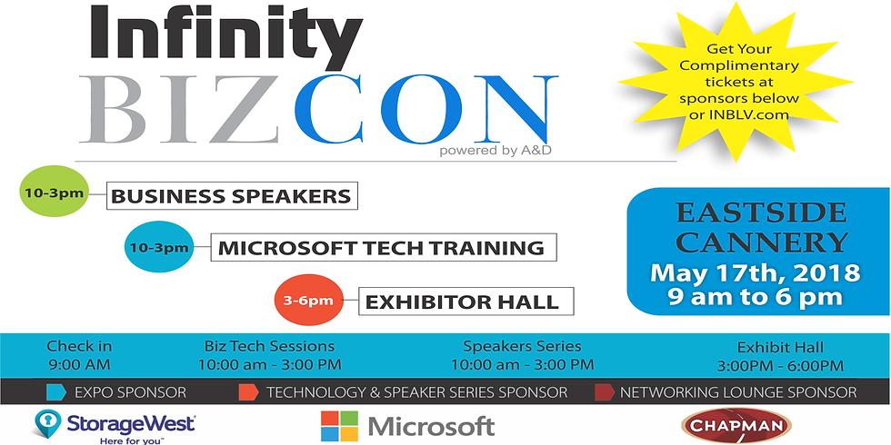 Infinity BizCon Speakers Series Tickets $10