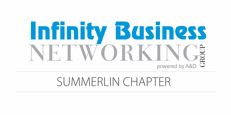 Infinity Business Networking Group Summerlin Chapter