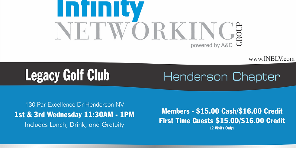 Infinity Networking Group Henderson Chapter