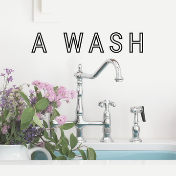 Cleaning Up! A Bath And Laundry Room Combo | ORC, FALL 2020, WEEK 1