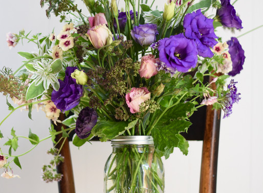 Purple Rain Featuring Lisianthus