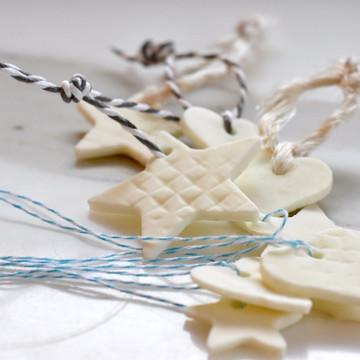 Porcelain Cookie Tree Ornaments