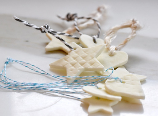 Porcelain Cookie Tree Ornaments