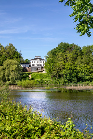 Main House Across the Lake