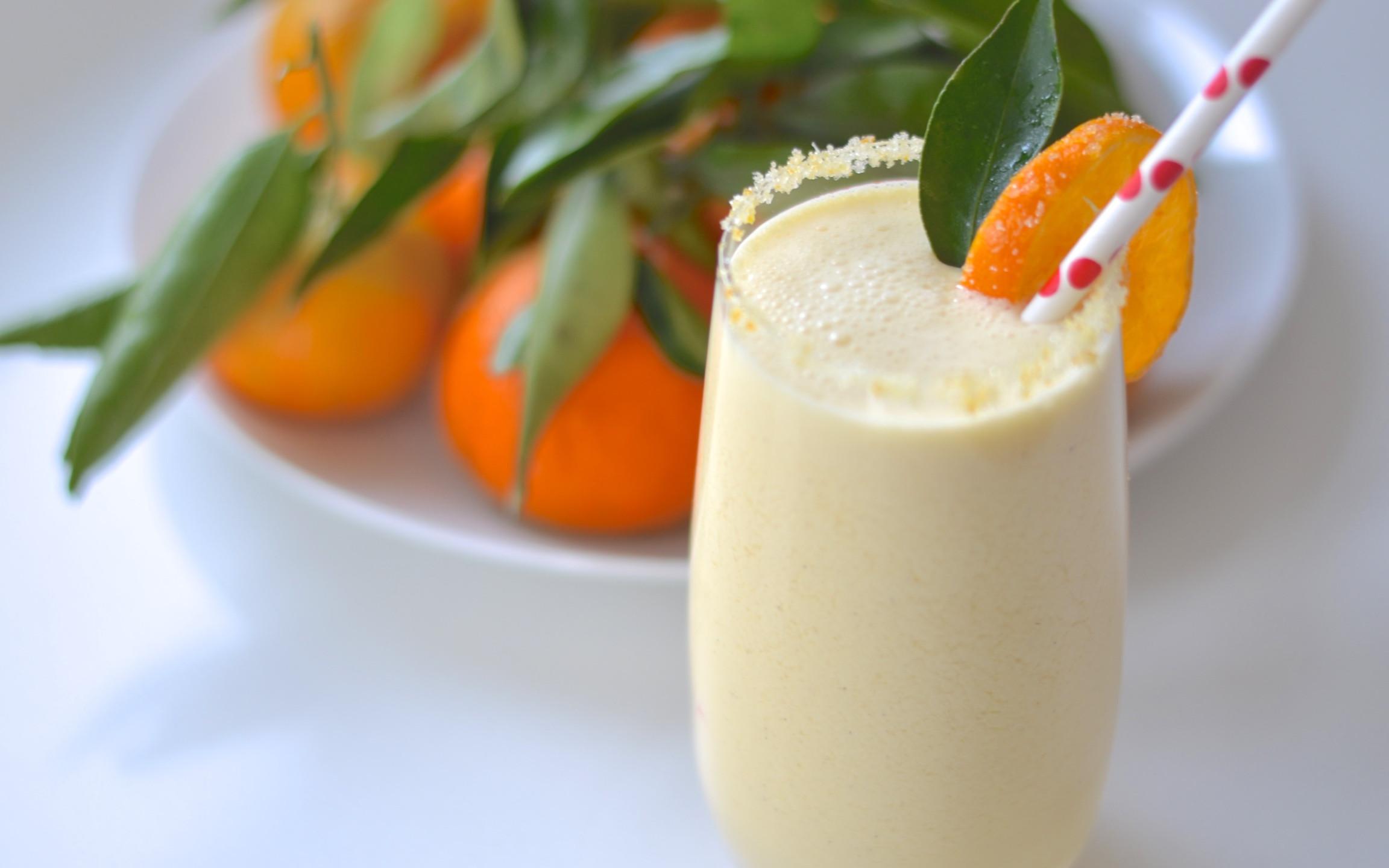 Orangey Boozy Smoothy