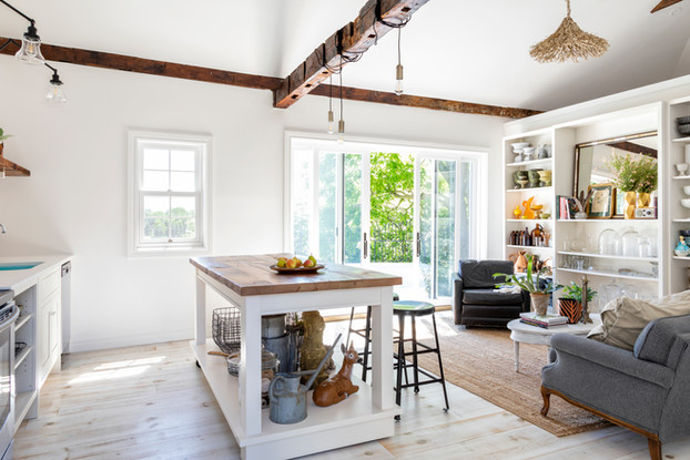 Coach House Kitchen Living Room