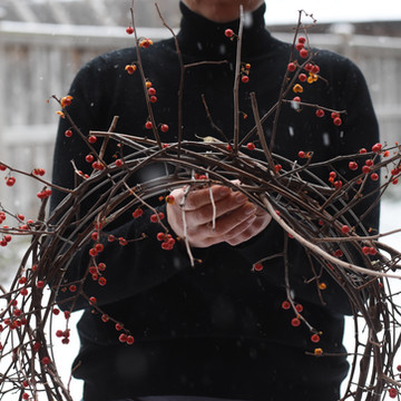 Winter Wreath In No Time