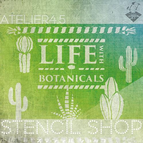 """""""Botanicals 01"""" - Stencil Set"""