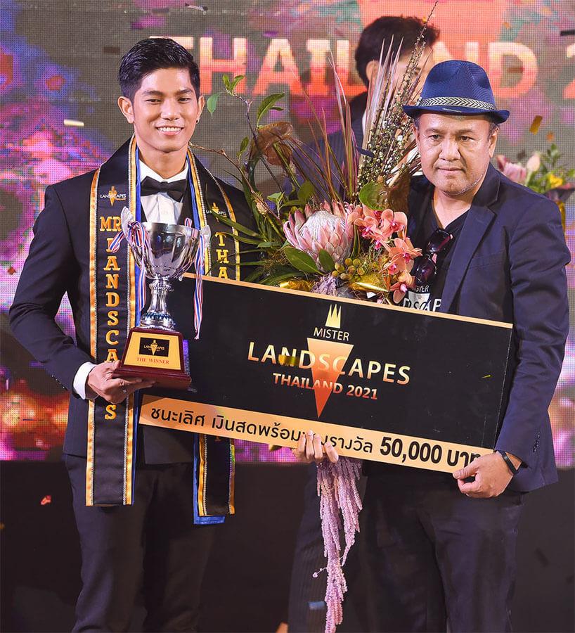 """Dàn mỹ nam """"đẹp hút hồn"""" đăng quang Mister Landscapes Thailand 2021 – Thanasarn Mengbuaman"""