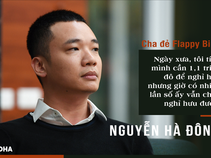 Cha đẻ Flappy bird Nguyễn Hà Đông