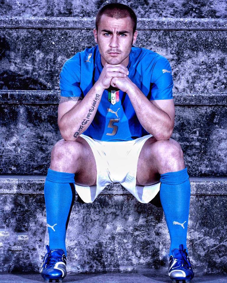 Cuộc sống ít scandal của trung vệ điển trai Fabio Cannavaro