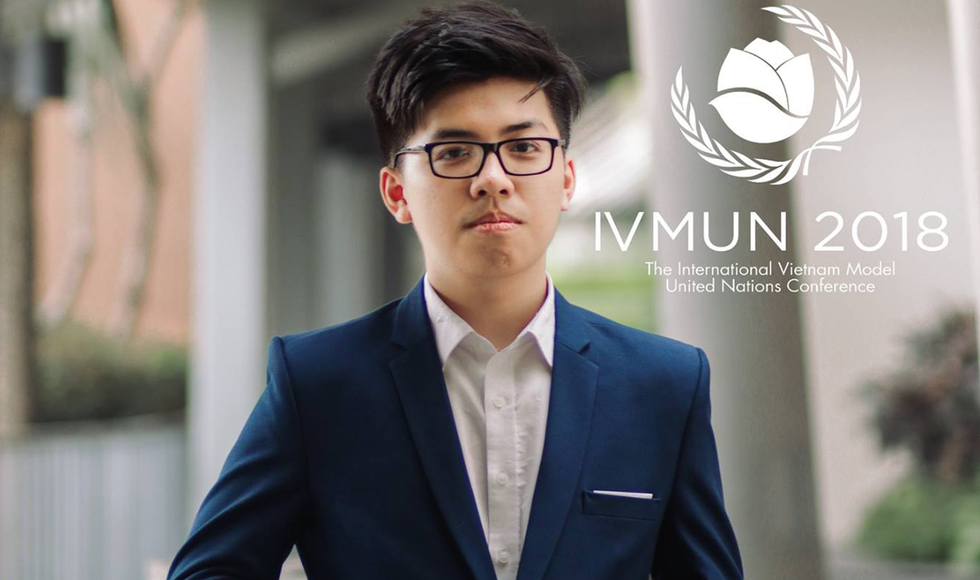 Lê Mạnh Linh - Nam sinh trường Ams giành học bổng 6,6 tỷ du học Mỹ.